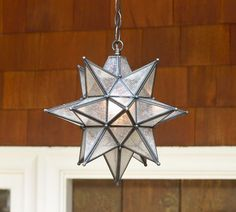 Pendant light for front porch ~ Pottery Barn
