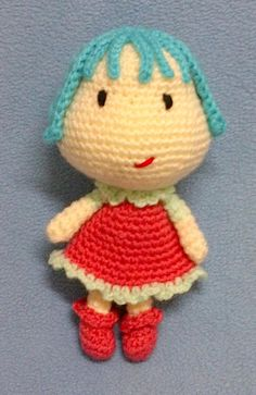 This week wanted to talk about amigurumi doll's hair making. If you ask me, it is the hardest part of finishing the doll and making her look the way we imagine. At least it is for me. Tried s…
