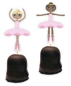 Ballerina traktatie, maar er kan ook iets voor jongens op natuurlijk!