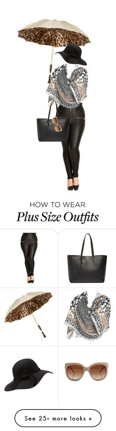 """Untitled #757"" by diananicoleparsons on Polyvore featuring City Chic, Persol, Yves Saint Laurent, STELLA McCARTNEY, women's clothing, women, female, woman, misses and juniors"