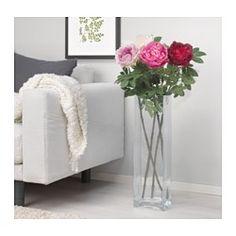 IKEA - SMYCKA, Kunstblume, Naturgetreue, künstliche Blüte. Wirkt immer frisch.Der Stängel mit Stahldraht lässt sich nach Wunsch biegen.Der Stängel kann mit einer Zange gekürzt werden.