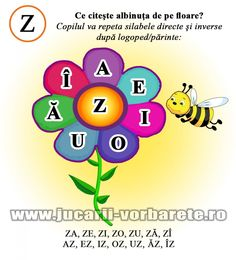 fisa de logopedie Z Oral Motor Activities, Educational Activities, Romanian Language, Alphabet Worksheets, Special Needs, Therapy, School, Children, Literatura