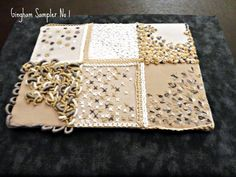 Gingham Sampler - embroidery