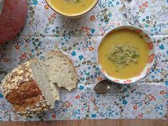 Creamy Potato Carrot Leek Soup. The soup trend continues. Nom Rating: 3 Stars.