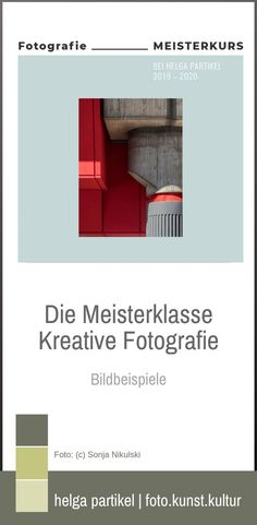Klicke, um Bildbeispiele der Meisterklasse Kreative Fotografie zu sehen.  #fotografie #fotografieren #fotografierenlernen #fotokurs #fotokunstkultur #kreativefotografie #kreativ #meisterklasse #onlinekurs #fotocoach Lightroom, School Photography, Creative, Inspiration, Shopping, Box, Photos, Abstract Photography, Creative Photography