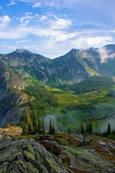 Selway Crags, Northern Idaho, USA. To those in love with Mountaineering, Hiking, Climbing and Backpacking - here is your paradise!