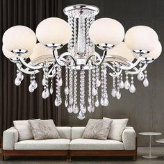 Lightinthebox European Style Elegant Luxury 9 Light Crystal Chandelier, Modern Ceiling Light Fixture for Dining Room, Bedroom, Living Room LightInTheBox http://www.amazon.com/dp/B00LIISV7M/ref=cm_sw_r_pi_dp_jshrub09Z0X6H