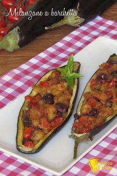 verticale_Melanzane a barchetta ricetta barchette di melanzane con pomodorini olive il chicco di mais