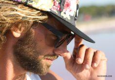 Looking For The Beach Look. Komono Sunglasses + K1X Five Panel.