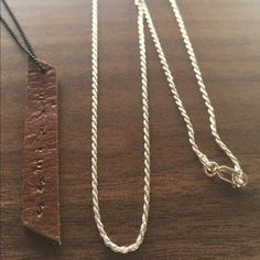 I just added this to my closet on Poshmark: Rope Sterling silver necklace 925. Price: $23 Size: OS