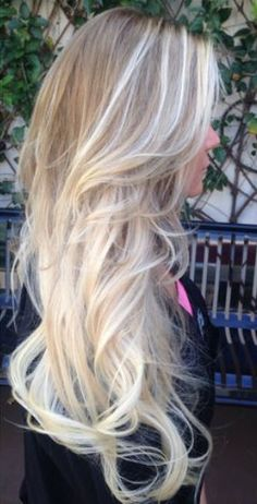 Need that color at the ends of my hair. But my ombre fades to this yellowy blonde so fast :(