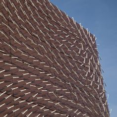 Charles Sowers' kinetic installation on the facade of theRandall Museum in San Francisco.