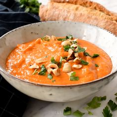 Spanish romesco sauce is NOT made from red bell peppers. Romesco is a tomato-based sauce from Catalonia that's delicious served over grilled vegetables and baked potatoes, or as a dipping sauce for roasted artichokes, bread or the famous Catalán spring on Sauce For Vegetables, Grilled Vegetables, Baby Food Recipes, Dinner Recipes, Cooking Recipes, Spanish Food Recipes, Romesco Sauce Recipe, Vegetarian Recipes, Healthy Recipes