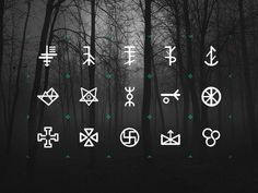 [GIF] Slavic Pottery Symbols by Kamil Napora