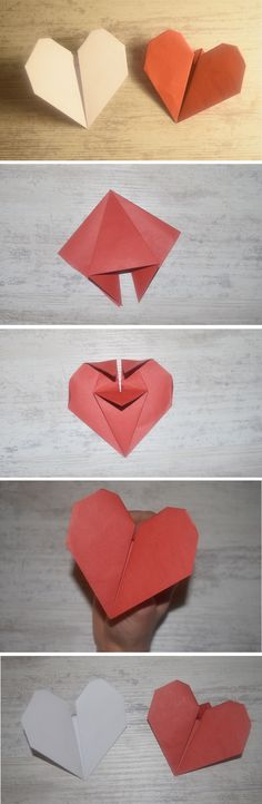 Heartbeat origami (DIY Tutorial) – Neesly