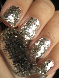 Milani Jewel FX - Silver ((nail polish just made me faint)) loving this!!