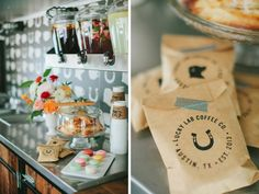 While weddings will always be our first love, coffee and desserts run a close second! Coffee caterer Lucky Lab Coffee Co. teamed up with Westcott Weddings to create this oh-so-sweet styled shoot featuring their local roast and delightful treats. Let the darling florals and bistro setup inspire your wedding reception. And be sure to check out Lucky Lab's mobile coffee bar catering options for your event! Happy planning! Photos by Jen Dillender Photography. #luckylabcoffeeco. #westcottweddings