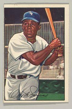 1952 Bowman 5 Minnie Minoso Chicago White Sox Baseball Card