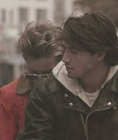 With Keanu Reeves in My Own Private Idaho