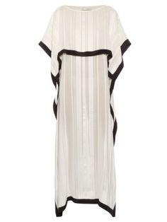 Ammos stripe-jacquard silk dress | Zeus   Dione | MATCHESFASHION.COM