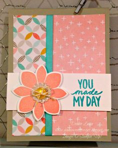 Debbie's Creative Spot: Petal Potpourri and Best Day Ever Stamp Sets
