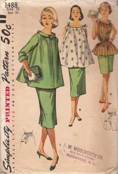 Maternity sewing pattern