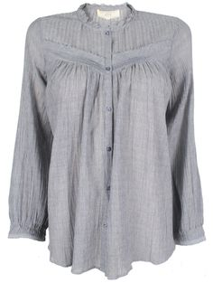 French Blue Blouse By athé by Vanessa Bruno