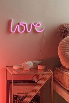 Shop Love LED Neon Sign at Urban Outfitters today. We carry all the latest styles, colors and brands for you to choose from right here. Home Decor Accessories, Decorative Accessories, Kitchen Accessories, Home Decor Bedroom, Diy Home Decor, Bedroom Ideas, Bedroom Modern, Urban Outfitters Furniture, Love Neon Sign