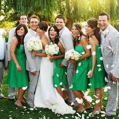 More green dresses