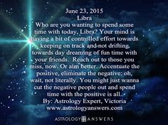 The Astrology Answers Daily Horoscope for Monday, June 23, 2015 #astrology