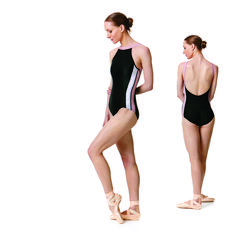 Keto Dancewear Kinetic Low back leotard in black. Perfect for Ballet rehearsals or in the dance studio. Just Dance, Dance Moms, Gymnastics Leotards, Ballet Leotards, Ballet Clothes, Dance Outfits, Ballet Outfits, Sexy Bra, Dance Wear