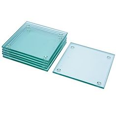 60-3909 - Etchable Square Coaster (6pc) $5.95