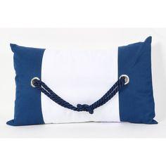 DEI Square Knot Cotton Throw Pillow & Reviews | Wayfair
