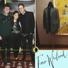 Our #EDFF winner Timo Weiland was at #NYFW!