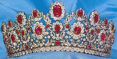 France - The Duchess of Angouleme (Marie- Therese of France) Ruby Tiara