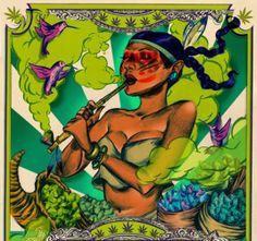 Happy Danksgiving!!! #Shivanysa #Herbalista [Art: Justin Runfola] Cannabis, High Society, Weed, Mary Janes, Herbs, Fan Art, Cartoon, Ganja