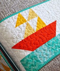 #Quilting Sail Boat Block - Tutorial