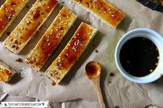 Crispy Teriyaki Tofu Pad Thai Spring Rolls - The Plant Philosophy Tofu Pad Thai, Pad Thai Noodles, Thai Rice, Thai Spring Rolls, Baked Spring Rolls, Teriyaki Tofu, Rice Paper Rolls, Spring Recipes, Recipes