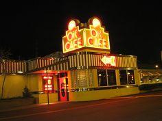 "OK Cafe in Atlanta Ga by javajoba, via Flickr. best breakfast, burgers, milkshakes and comfort food in atlanta. and where the waitresses still call everyone ""honey."""