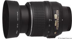 Nikon 18-55mm f/3.5-5.6G AF-S DX VR Lens.  For more images and information on camera gear please visit us at www.The-Digital-Picture.com