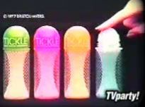 These made the BEST microphones in the 70s as a kid.  Tickle deodorant.. the outer sleeve came off of the bottle.