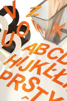 KOLOROWE Literki Magnetyczne dla Dzieci - A,B,C,D w MagWords® - More than Words na DaWanda.com