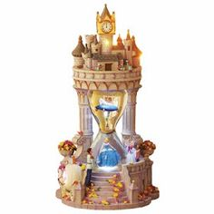 Disney Snow globes Collectors Guide: Cinderella Hourglass