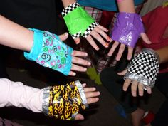 Duct Tape Gloves