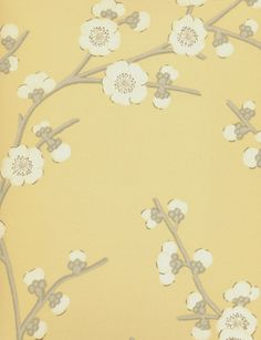 Blossom wallpaper from GP & J Baker Gp&j Baker, Nina Campbell, Cole And Son, Designers Guild, Designer Wallpaper, Snug, Fabric, Chinese, Painting