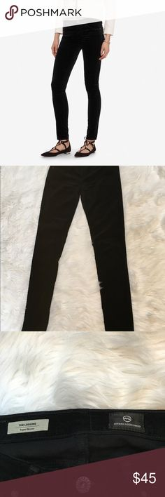 Adriano Goldschmied The Legging Skinny Velvet AG Adriano Goldschmied Women's Pants Size 25 The Legging Super Skinny Corduroy.  Gently used condition with no flaws.  54% Cotton, 35% Modal, 8% Polyester, 3% Polyester.  Please see pictures for measurements.  Smoke free home. Ag Adriano Goldschmied Pants Skinny