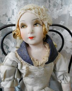 Hold for Val 1920's French Boudoir Bed Doll, by Playback Shop