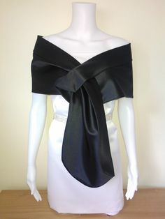 Black  shawl  coverup bolero size  8 10 12 14 16 18 by MyCoverUp, £28.00