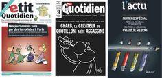 «Charlie Hebdo», les journaux français en deuil - Libération