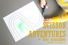Kids Create: Scissor Adventures + free printables - delia creates